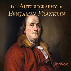 Autobiography of Benjamin Franklin(1143) by Benjamin Franklin audiobook cover art image on Bookamo