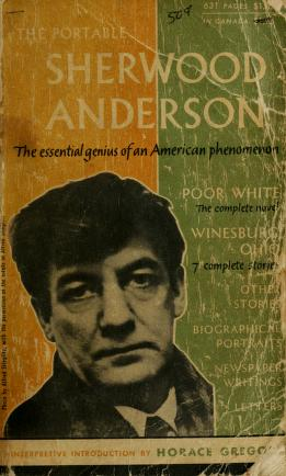 Cover of: The portable Sherwood Anderson | Sherwood Anderson